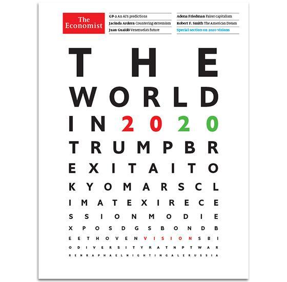 Prévisions 2020 : the economist vu par GAZ'S & LTS