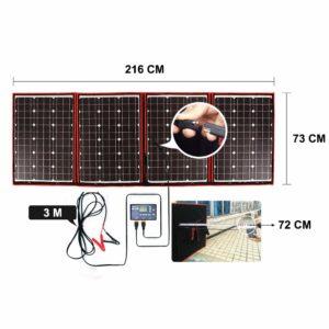 kit solaire portatif